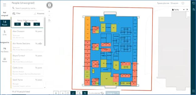 Indoor Space Planner Web Application